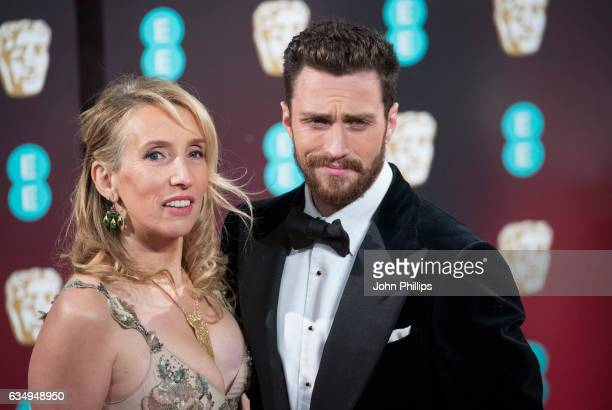 Sam TaylorJohnson Aaron TaylorJohnson attend the 70th EE British Academy Film Awards at Royal Albert Hall on February 12 2017 in London England