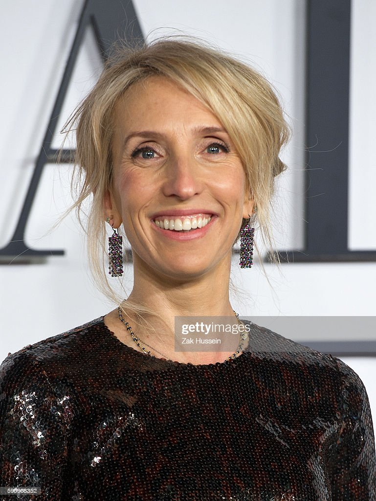 Sam TaylorJohnson arriving at the UK Premiere of 'Fifty Shades Of Grey' at the Odeon Leicester Square in London