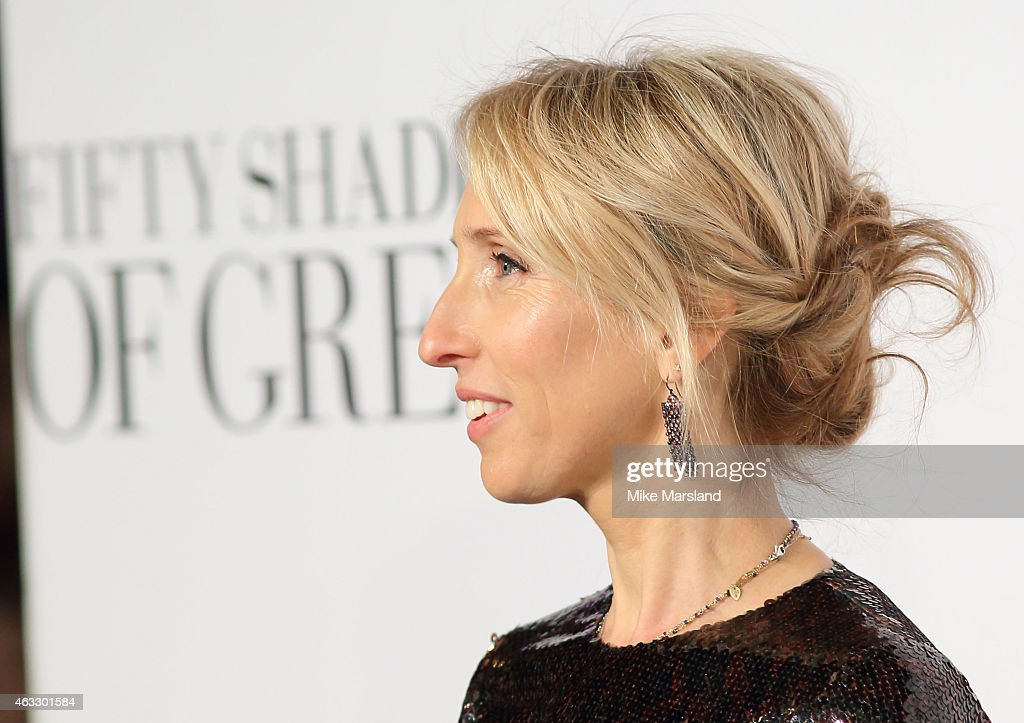 Sam Taylor-Johnson attends the UK Premiere of 'Fifty Shades Of Grey' at Odeon Leicester Square on February 12, 2015 in London, England.