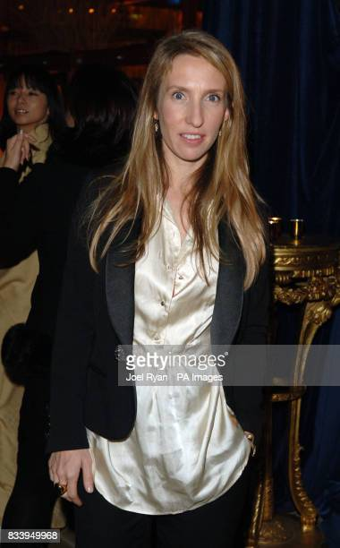 Sam TaylorWood at the Golden Compass World Premiere afterparty at the Tobacco Docks in London