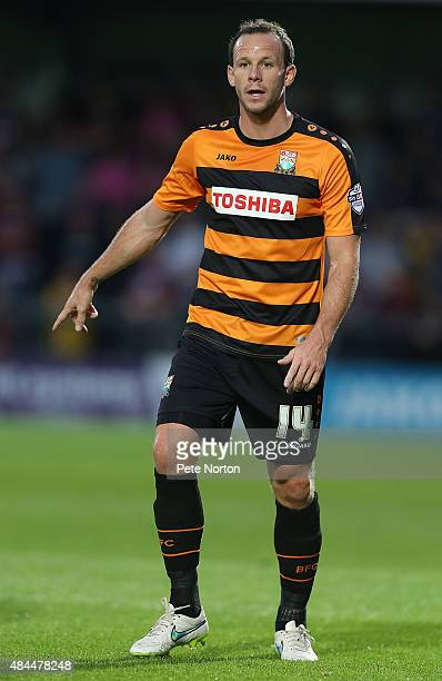 Sam Togwell of Barnet in action during the Sky Bet League Two match between Barnet and Northampton Town at The Hive on August 18 2015 in Barnet...