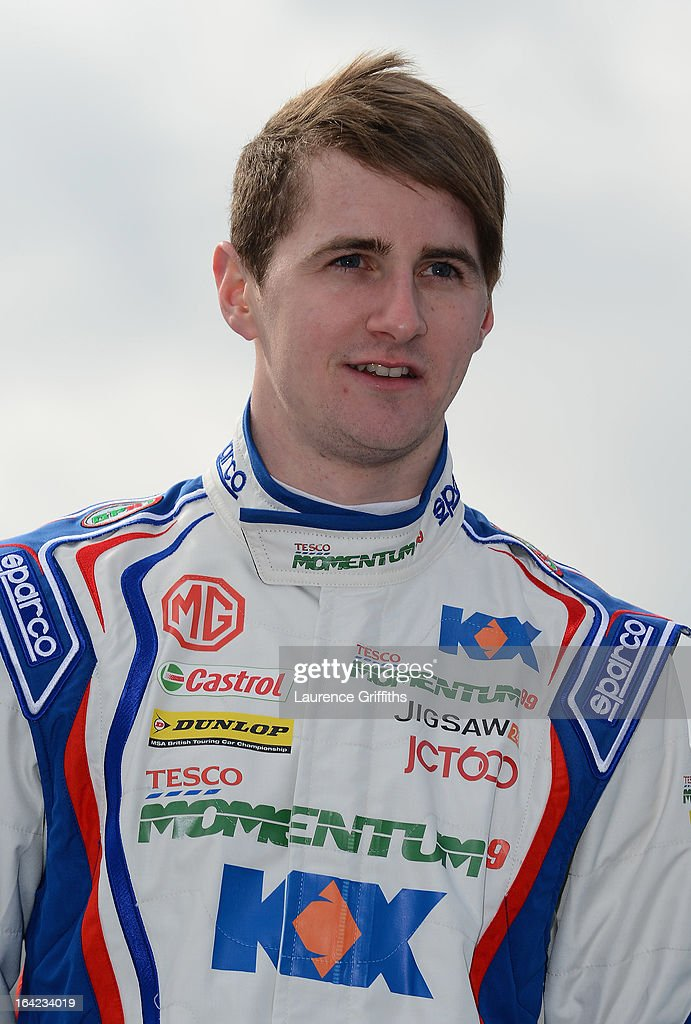 Sam Tordoff of MG KX Momentum Racing poses for a portrait during the BTCC Media Day at Donington Park on March 21, 2013 in Castle Donington, England.