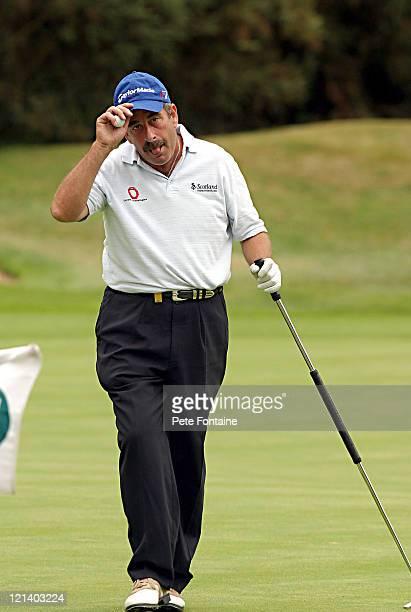 Sam Torrance wins the Travis Perkins Senior Masters at the Wentworth Golf Club