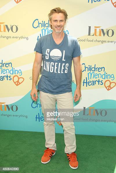 Sam Trammell arrives at the Children Mending Hearts's 6th Annual Fundraiser 'Empathy Rocks A Spring Into Summer Bash' held at a private residence on...