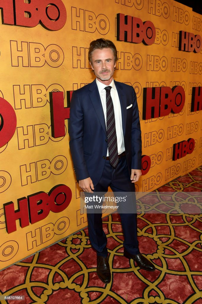 Sam Trammell attends HBO's Post Emmy Awards Reception at The Plaza at the Pacific Design Center on September 17, 2017 in Los Angeles, California.