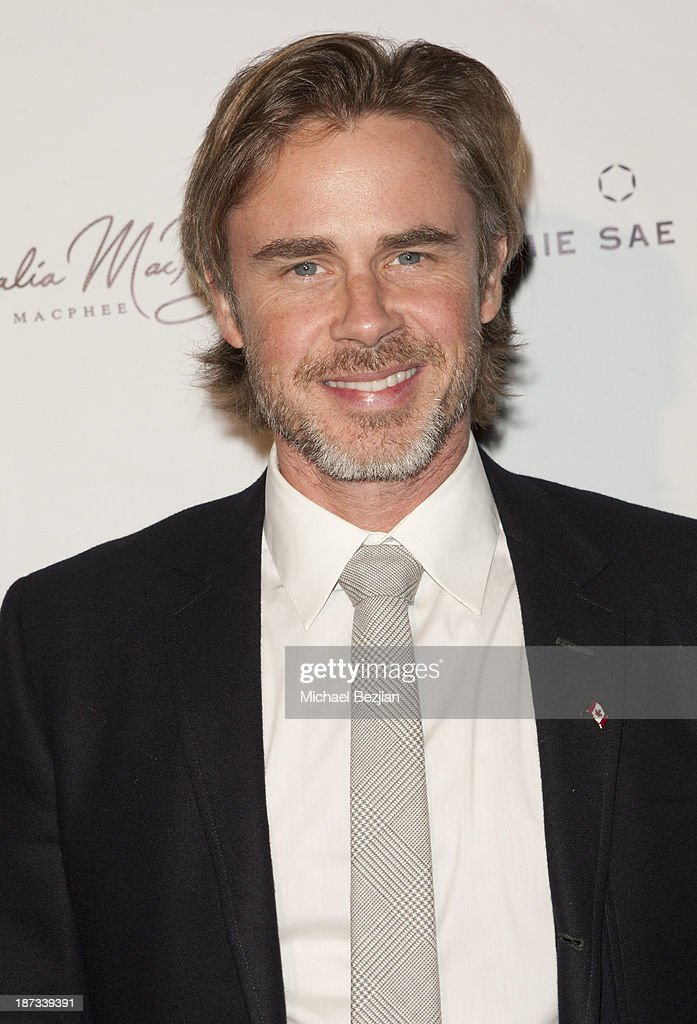 <a gi-track='captionPersonalityLinkClicked' href=/galleries/search?phrase=Sam+Trammell&family=editorial&specificpeople=3205930 ng-click='$event.stopPropagation()'>Sam Trammell</a> attends The Consul General Of Canada Mr. David Fransen Honors Canadian Fashion Designer, Dalia MacPhee on November 7, 2013 in Los Angeles, California.
