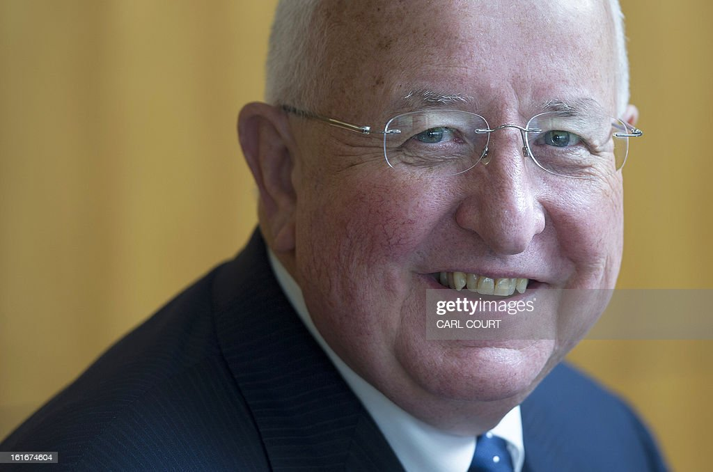 Sam Walsh, Chief Executive Officer for mining giant Rio Tinto, poses for pictures at a photocall in London, on February 14, 2013. Anglo-Australian mining titan Rio Tinto posted its first annual loss in 18 years Thursday, plunging US$2.99 billion into the red on hefty writedowns on its Mozambique coal and aluminium businesses.