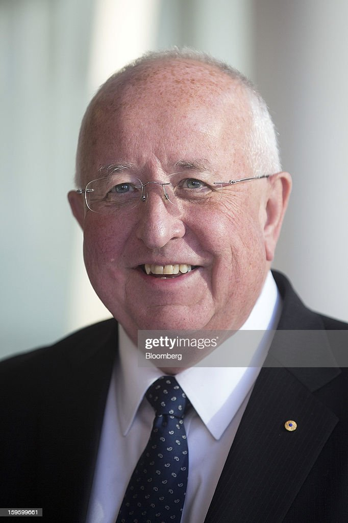 Sam Walsh, incoming chief executive officer of Rio Tinto Group, poses for a photograph at the company's offices in London, U.K., on Thursday, Jan. 17, 2013. Rio Tinto Group, the world's second-biggest mining company, said Chief Executive Officer Tom Albanese will step down as the company prepares to slash the value of acquisitions he oversaw by about $14 billion. Photographer: Simon Dawson/Bloomberg via Getty Images