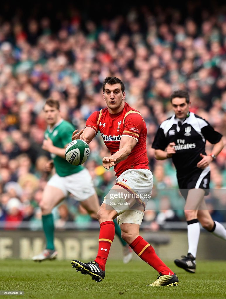 Sam Warburton of Wales in action during the RBS Six Nations match between Ireland and Wales at the Aviva Stadium at Aviva Stadium on February 7, 2016 in Dublin, Ireland.