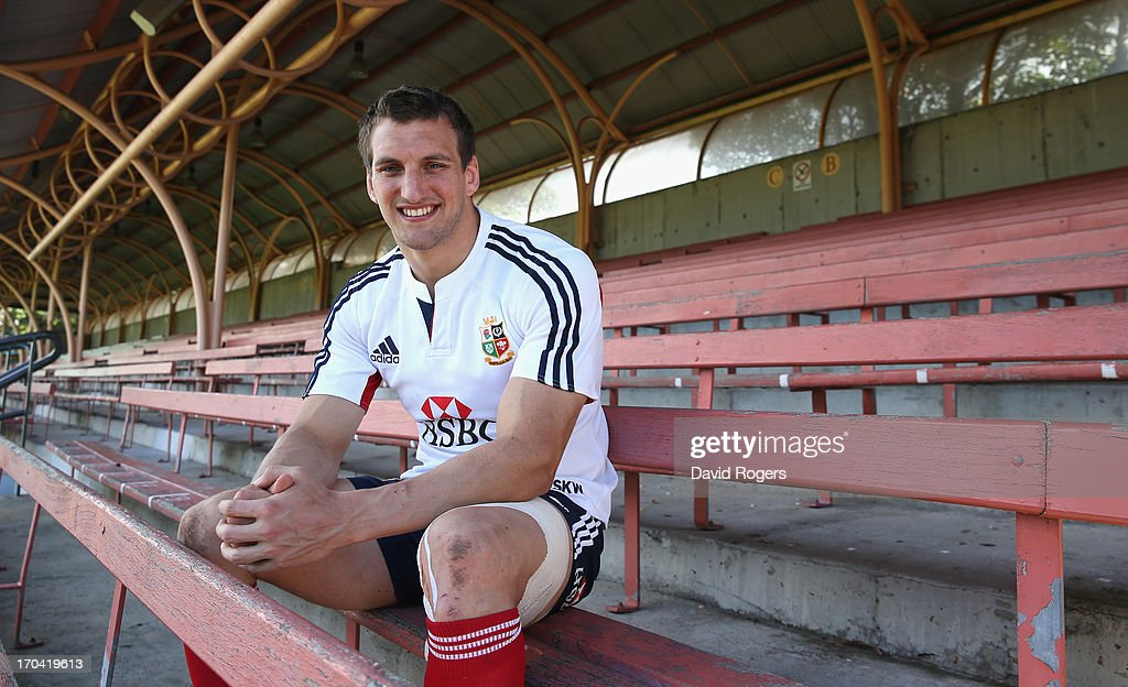 <a gi-track='captionPersonalityLinkClicked' href=/galleries/search?phrase=Sam+Warburton&family=editorial&specificpeople=4234449 ng-click='$event.stopPropagation()'>Sam Warburton</a>, the Lions captain, poses after the British and Irish Lions training session at North Sydney Oval on June 13, 2013 in Sydney, Australia.