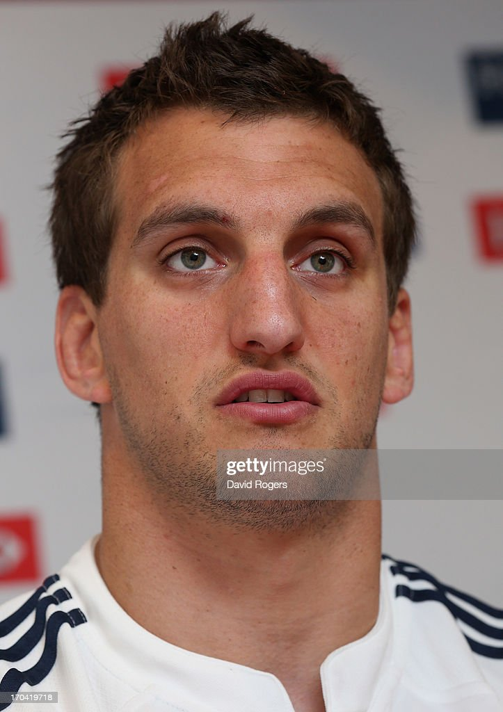 <a gi-track='captionPersonalityLinkClicked' href=/galleries/search?phrase=Sam+Warburton+-+Rugby+Player&family=editorial&specificpeople=4234449 ng-click='$event.stopPropagation()'>Sam Warburton</a>, the Lions captain, talks to the media at a British and Irish Lions media conference held at North Sydney Oval on June 13, 2013 in Sydney, Australia.