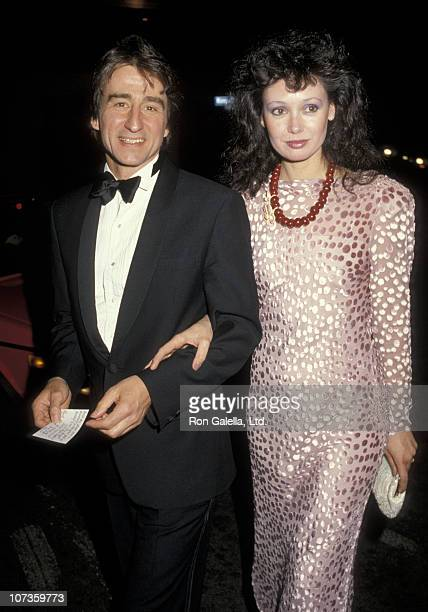 Sam Waterston and Lynn Waterston during Party for 11th Annual People's Choice Awards at Ma Maison Restaurant in Beverly Hills California United States