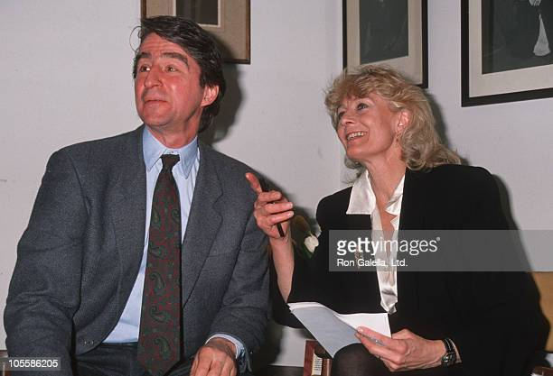 Sam Waterston and Vanessa Redgrave during Actor's Equity Project Press Conference at New York City in New York City New York United States