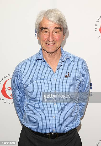 Sam Waterston attends the 24th Annual Simply Shakespeare Benefit Reading Of 'As You Like It' held at Freud Playhouse UCLA on September 22 in Westwood...