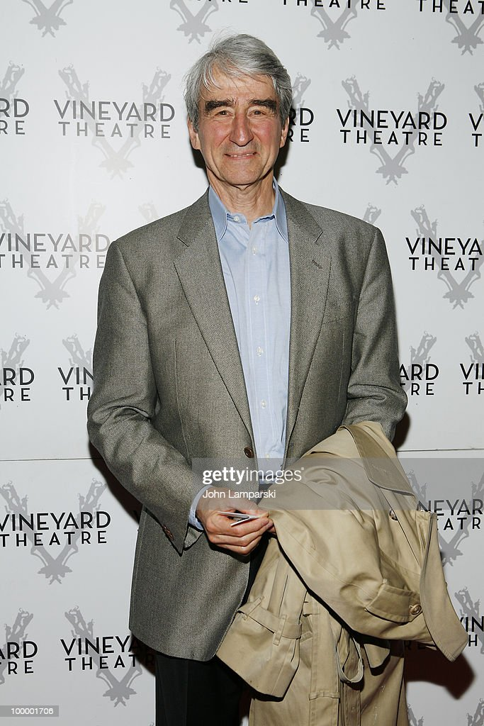 Sam Waterston attends the opening night of 'The Metal Children' at the Vineyard Theatre on May 19, 2010 in New York City.