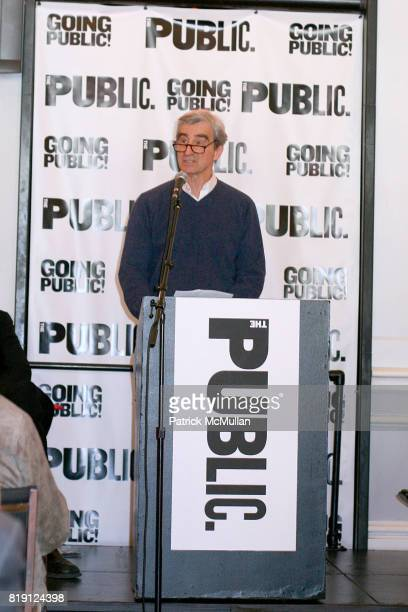 Sam Waterston attends THE PUBLIC THEATRE Kicks Off Building Renovations and Launches CAPITAL CAMPAIGN With CEREMONIAL GROUNDBREAKING at The Public...