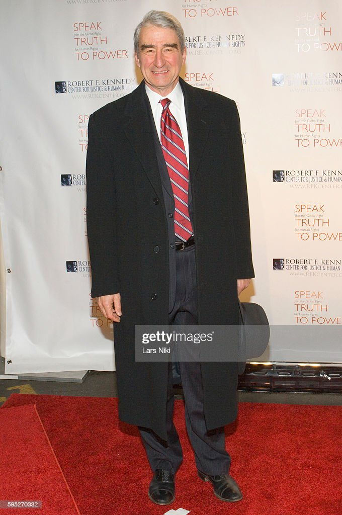 Sam Waterston attends the 'Robert F Kennedy Center For Justice Human Rights Bridge Dedication Gala' at Pier 60 in New York City