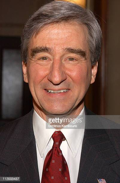 Sam Waterston during 'Law Order' Celebrates 300th Episode at Chelsea Piers in New York City New York United States