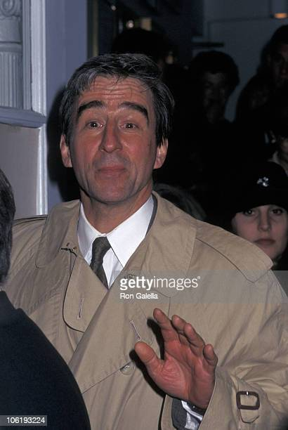 Sam Waterston during Play Reading of 'Necessary Targets' at Helen Hayes Theater in New York City New York United States
