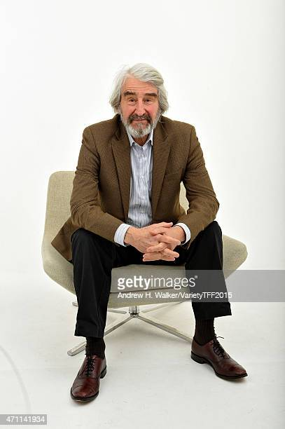 Sam Waterston from 'Anesthesia' appears at the 2015 Tribeca Film Festival Getty Images Studio on April 24 2015 in New York City