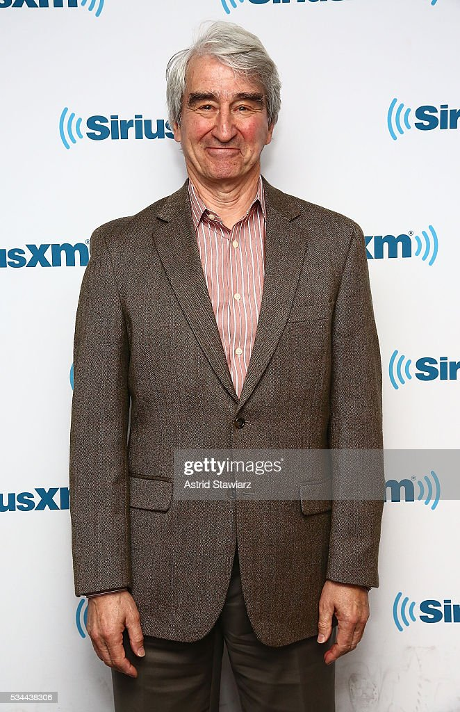 Sam Waterston visits the SiriusXM Studios on May 26, 2016 in New York City.