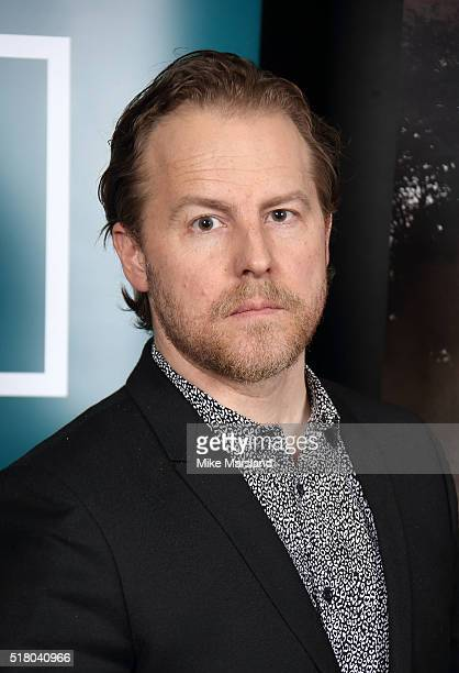 Sam West arrives for the preview screening for 'The Hollow Crown The Wars of the Roses Henry VI' on March 29 2016 in London United Kingdom