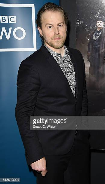 Sam West attends 'The Hollow Crown The Wars of the Roses Henry VI' Preview Screening at BFI Southbank on March 29 2016 in London England