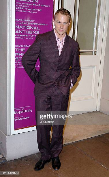 Sam West during 'Cloaca' Play Press Night at Old Vic Theatre in London Great Britain
