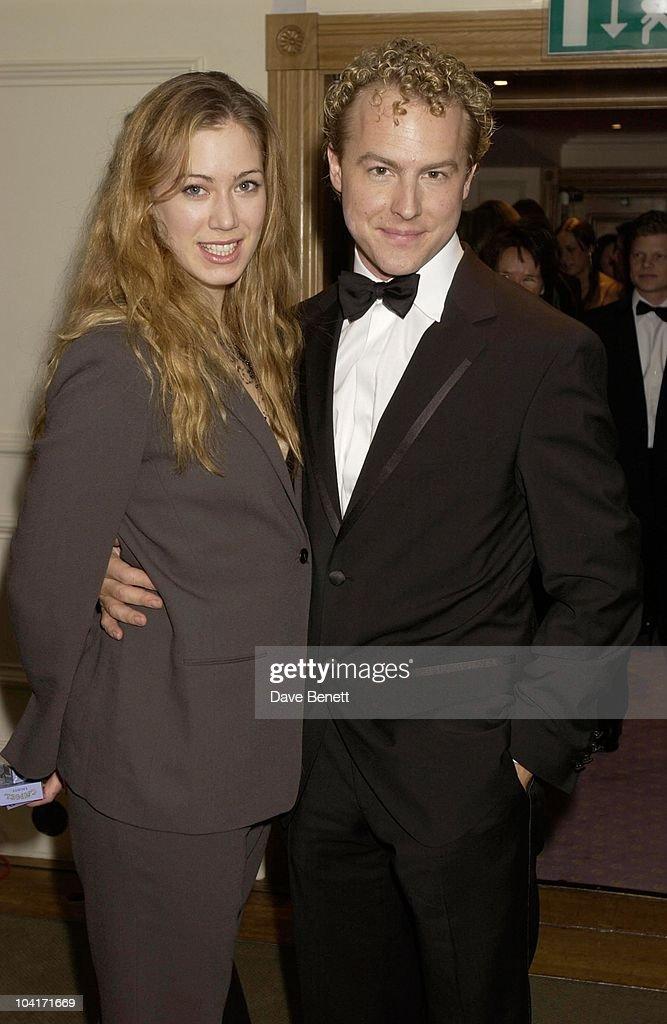 Sam West & Girlfriend Jessie, Evening Standard Film Awards, At The Savoy Hotel, London