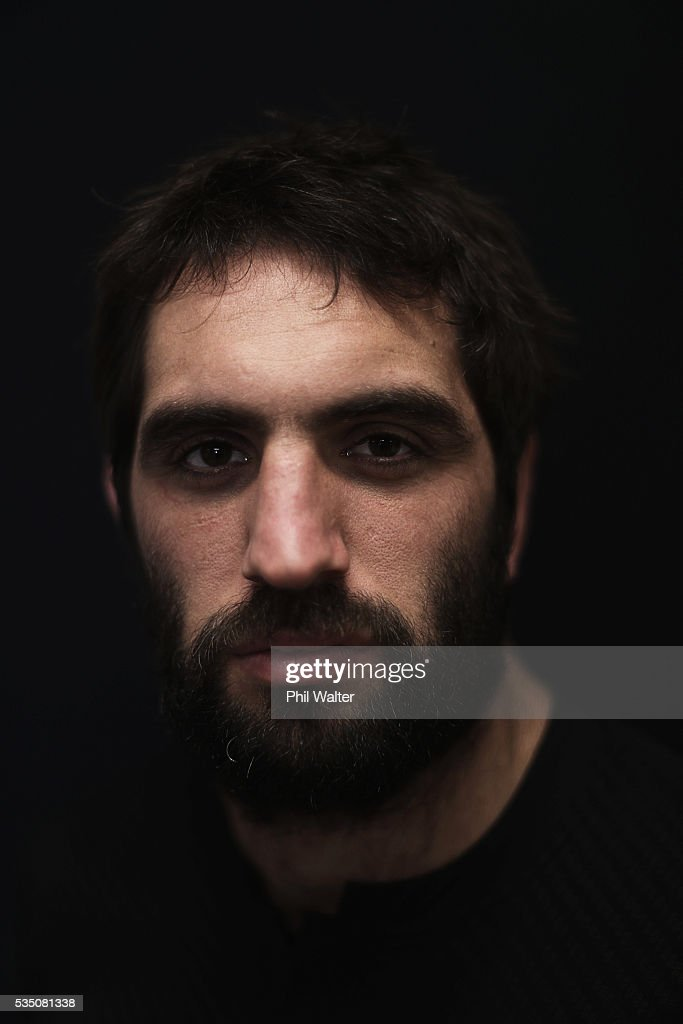 <a gi-track='captionPersonalityLinkClicked' href=/galleries/search?phrase=Sam+Whitelock&family=editorial&specificpeople=6070892 ng-click='$event.stopPropagation()'>Sam Whitelock</a> of the All Blacks poses for a portrait during a New Zealand All Black portrait session on May 29, 2016 in Auckland, New Zealand.
