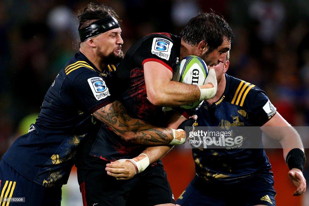 Super Rugby Rd 2 - Highlanders v Crusaders