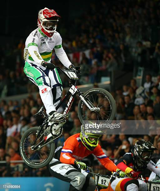Sam Willoughby of Australia in action during day five of the UCI BMX World Championships at Vector Arena on July 28 2013 in Auckland New Zealand