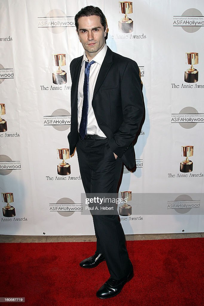 Sam Witwer arrives at the 40th Annual Annie Awards held at Royce Hall on the UCLA Campus on February 2, 2013 in Westwood, California.