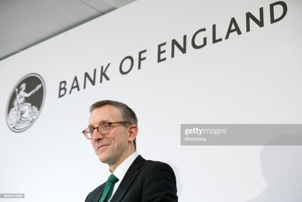 Sam Woods, deputy governor for prudential regulation at the Bank of England (BOE) and chief executive officer of the Prudential Regulation Authority (PRA), delivers a speech at the London Business School in London, U.K., on Monday, March 20, 2017. Woods, said concept of a risk margin is a sensible one, but its current implementation in Solvency II is flawed. Photographer: Jason Alden/Bloomberg via Getty Images