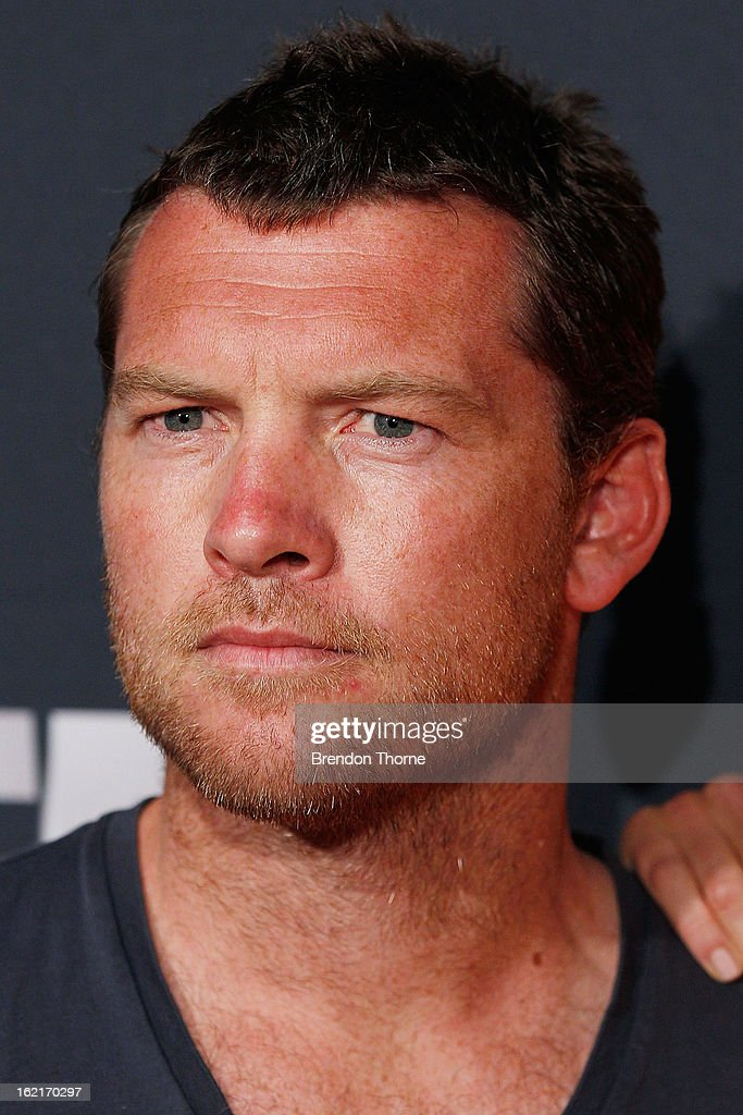 <a gi-track='captionPersonalityLinkClicked' href=/galleries/search?phrase=Sam+Worthington&family=editorial&specificpeople=2594426 ng-click='$event.stopPropagation()'>Sam Worthington</a> attends the 2013 Foxtel Launch at Fox Studios on February 20, 2013 in Sydney, Australia.