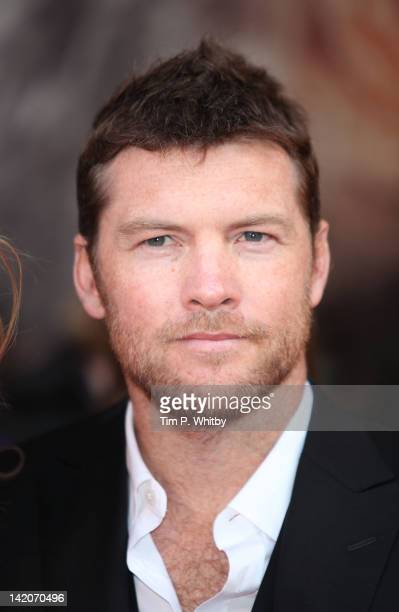 Sam Worthington attends the European premiere of Wrath Of The Titans at BFI IMAX on March 29 2012 in London England
