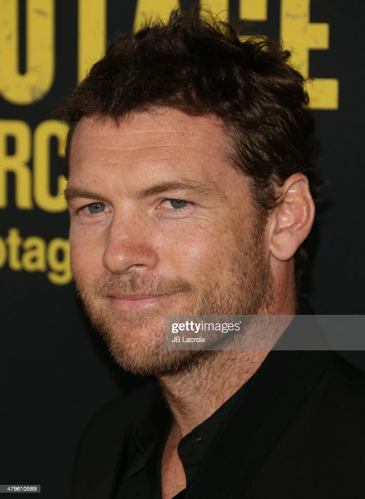 <a gi-track='captionPersonalityLinkClicked' href=/galleries/search?phrase=Sam+Worthington&family=editorial&specificpeople=2594426 ng-click='$event.stopPropagation()'>Sam Worthington</a> attends the 'Sabotage' Los Angeles premiere held at Regal Cinemas L.A. Live on March 19, 2014 in Los Angeles, California.