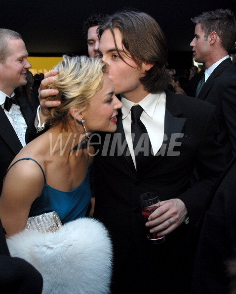 Samaire Armstrong and Kevin Zegers during 14th Annual ...