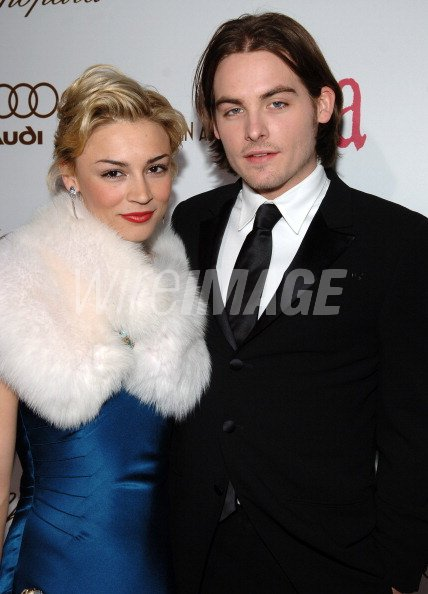 Samaire Armstrong and Kevin Zegers during Audi of America ...