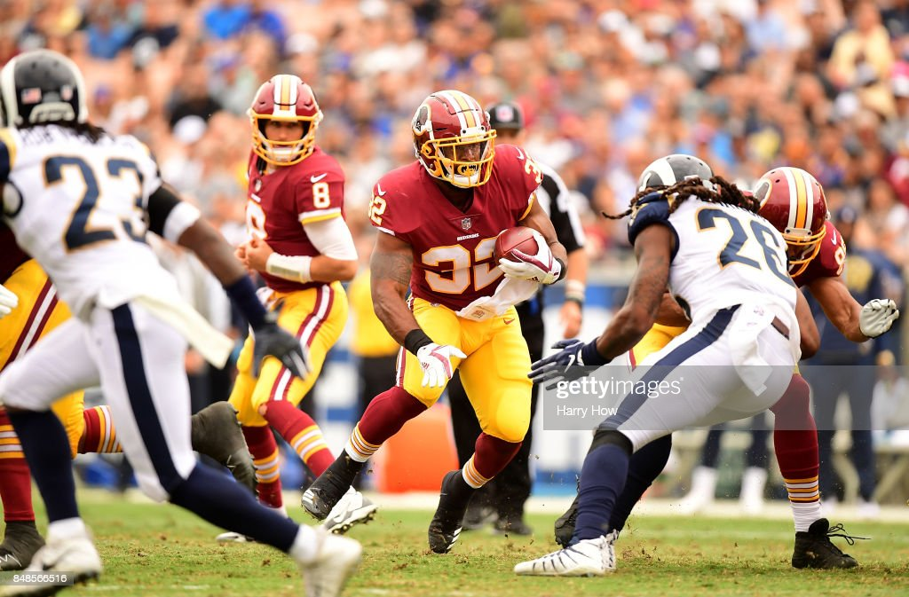 Washington Redskins v Los Angeles Rams