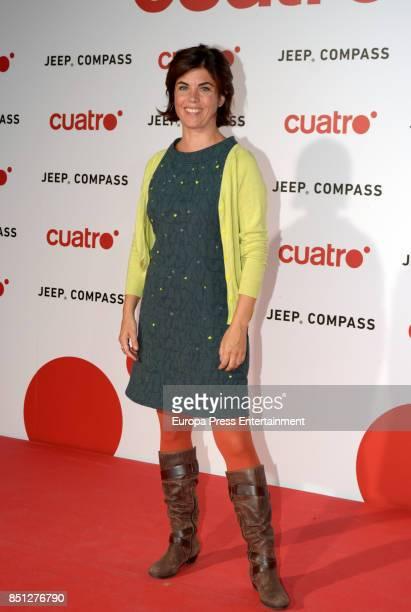 Samanta Villar attends the presentation of new season of Cuatro TV Channel on September 21 2017 in Madrid Spain