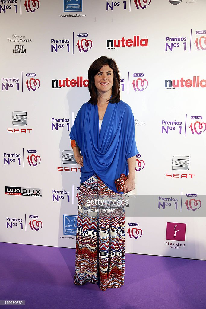 Samanta Villar poses at the photocall of 'Cadena 100 Number 1 Awards 2013'on May 27, 2013 in Barcelona, Spain.