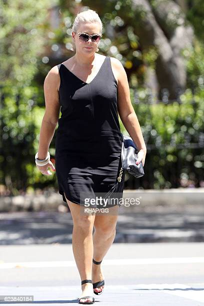 Samantha Armytage is seen on November 13 2016 in Sydney Australia
