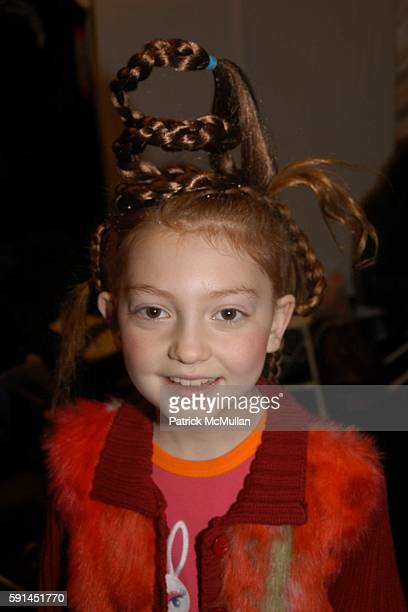 Samantha attends Child Magazine Fashion Show at The Atelier Tent at Bryant Park on February 7 2005 in New York City