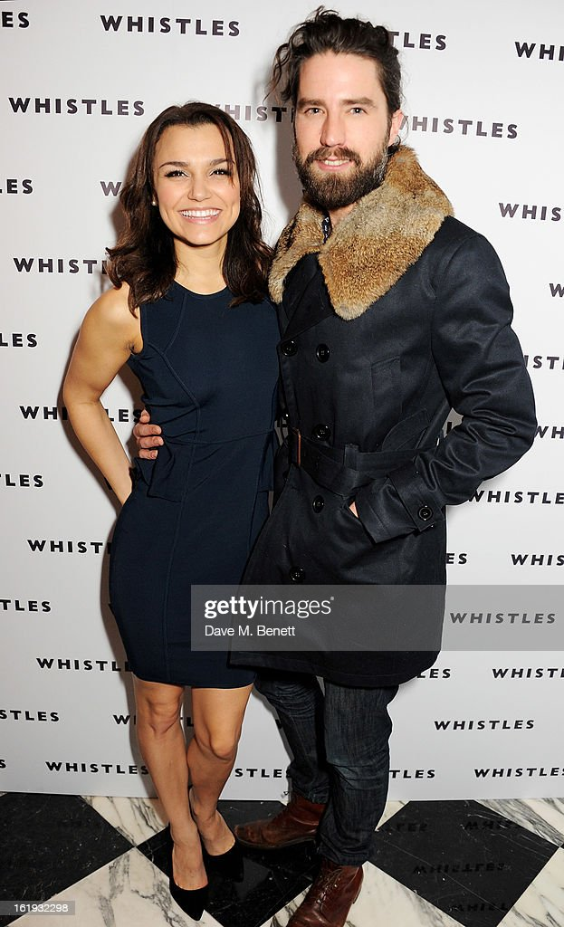 <a gi-track='captionPersonalityLinkClicked' href=/galleries/search?phrase=Samantha+Barks&family=editorial&specificpeople=7061893 ng-click='$event.stopPropagation()'>Samantha Barks</a> (L) and Jack Guinness attend the Whistles Limited Edition Autumn/Winter 2013 Collection party at The Arts Club on February 17, 2013 in London, England.