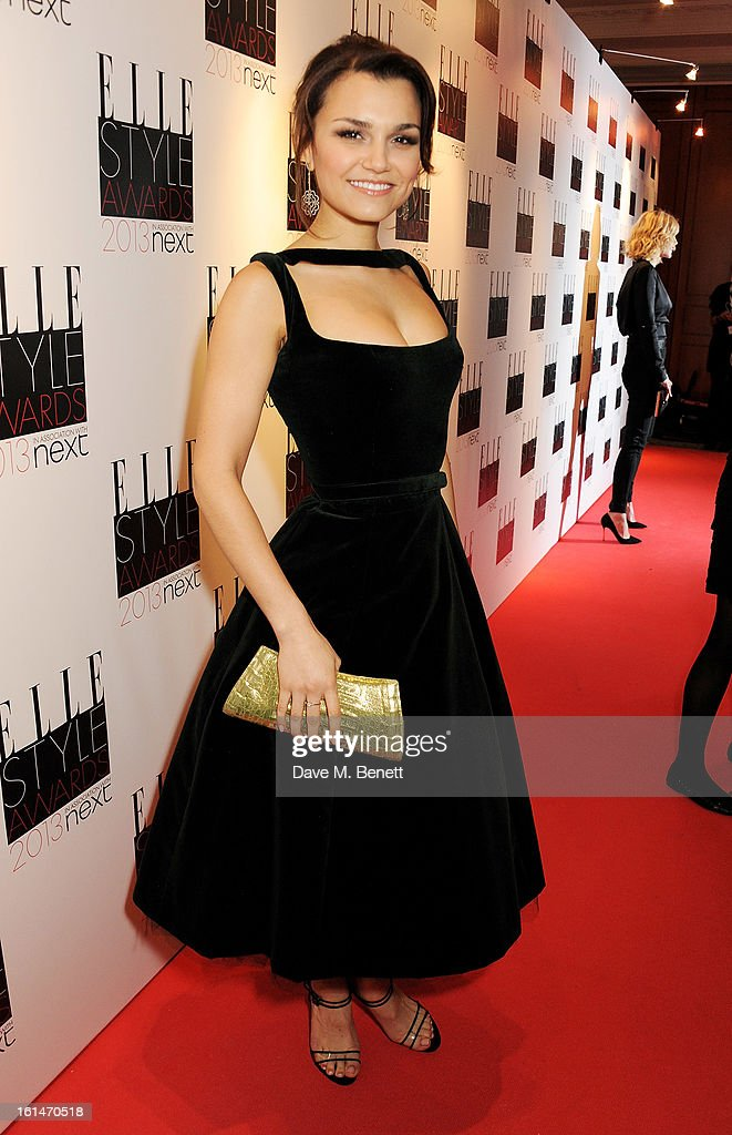 Samantha Barks arrives at the Elle Style Awards at The Savoy Hotel on February 11, 2013 in London, England.