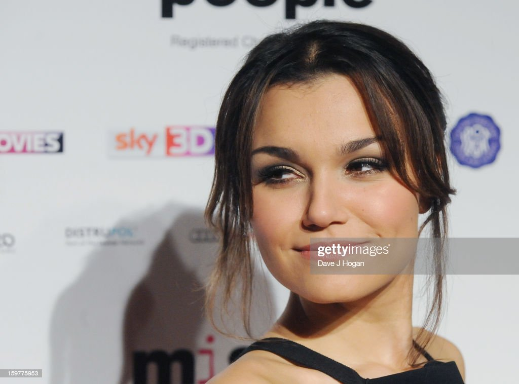 Samantha Barks arrives for the London Film Critics Circle Film Awards at The Mayfair Hotel on January 20, 2013 in London, England.