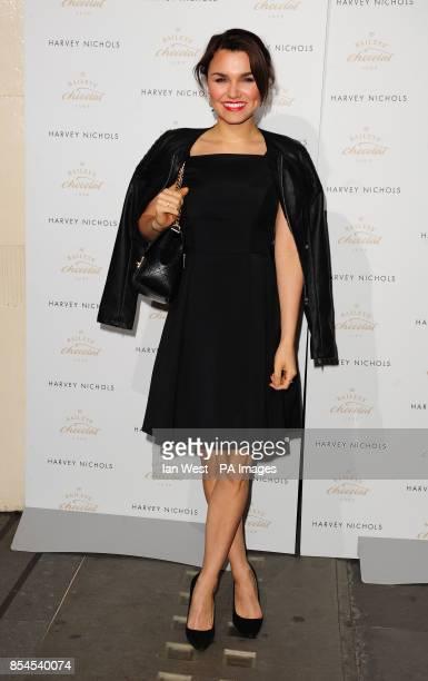 Samantha Barks attending the Baileys Feaster Egg Hunt at Harvey Nichols in London