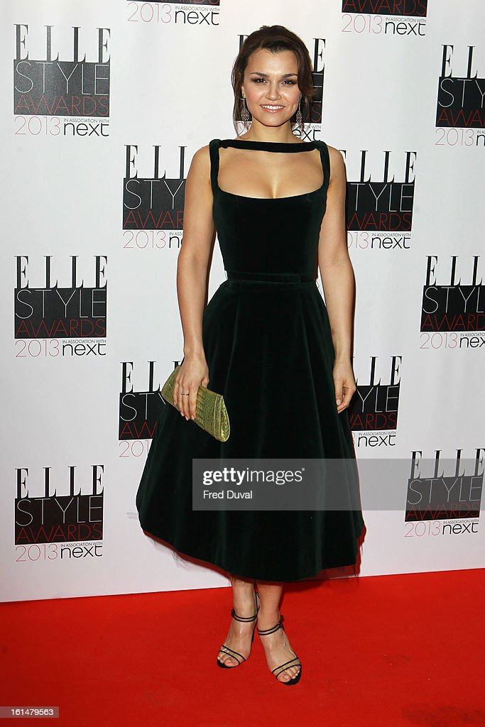 Samantha Barks attends Elle Style Awards Outside Arrivals on February 11, 2013 in London, England.