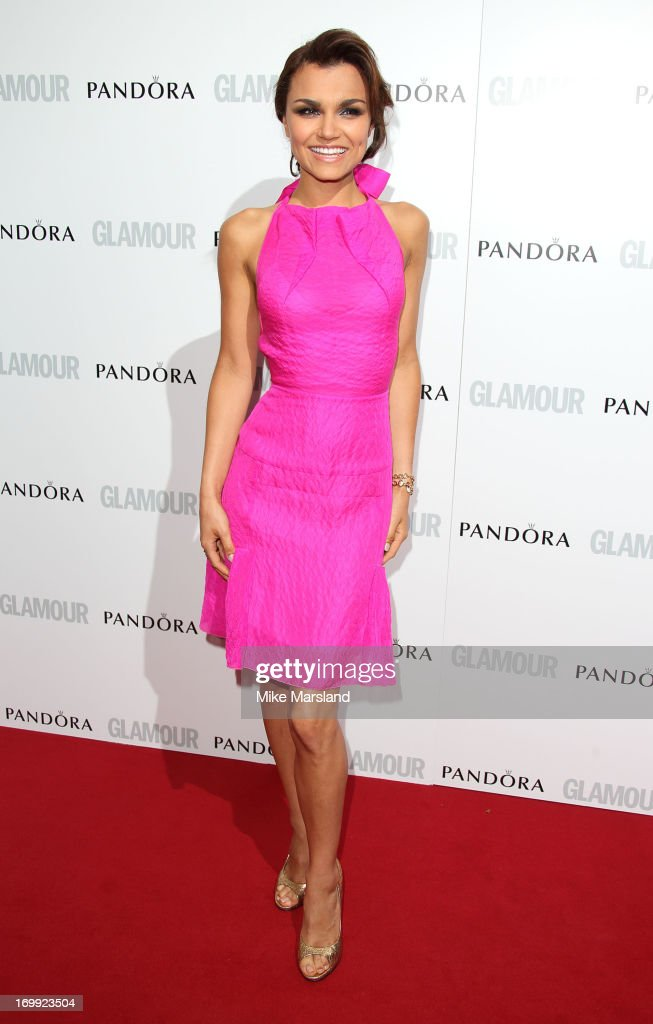 <a gi-track='captionPersonalityLinkClicked' href=/galleries/search?phrase=Samantha+Barks&family=editorial&specificpeople=7061893 ng-click='$event.stopPropagation()'>Samantha Barks</a> attends Glamour Women of the Year Awards 2013 at Berkeley Square Gardens on June 4, 2013 in London, England.